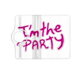 I Am The Party Typographic Design Quote Kindle Fire Hd (2013) Flip 360 Case by dflcprints