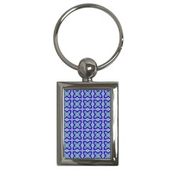 Cute Pretty Elegant Pattern Key Chain (rectangle) by creativemom