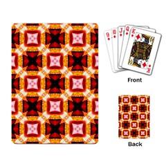 Cute Pretty Elegant Pattern Playing Cards Single Design by creativemom
