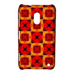 Cute Pretty Elegant Pattern Nokia Lumia 620 Hardshell Case by creativemom