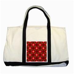 Cute Pretty Elegant Pattern Two Toned Tote Bag by creativemom