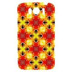 Cute Pretty Elegant Pattern HTC Sensation XL Hardshell Case by creativemom