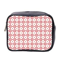 Cute Pretty Elegant Pattern Mini Travel Toiletry Bag (two Sides) by creativemom