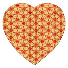 Cute Pretty Elegant Pattern Jigsaw Puzzle (heart) by creativemom