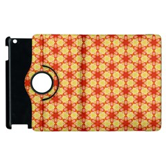 Cute Pretty Elegant Pattern Apple Ipad 3/4 Flip 360 Case by creativemom