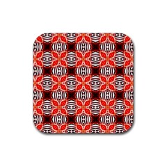 Cute Pretty Elegant Pattern Drink Coaster (square) by creativemom