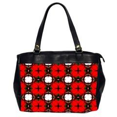Cute Pretty Elegant Pattern Oversize Office Handbag (two Sides) by creativemom