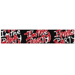 I Am The Party Text Quote Flano Scarf (large) by dflcprintsclothing