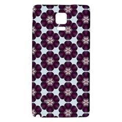 Cute Pretty Elegant Pattern Samsung Note 4 Hardshell Back Case by creativemom
