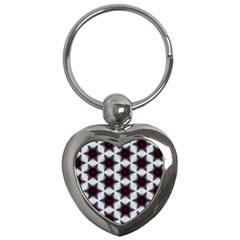 Cute Pretty Elegant Pattern Key Chain (heart) by creativemom