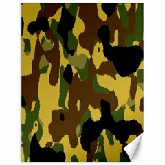 Camo Pattern  Canvas 12  X 16  (unframed) by Colorfulart23