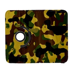 Camo Pattern  Samsung Galaxy S  Iii Flip 360 Case by Colorfulart23