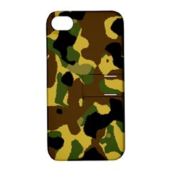 Camo Pattern  Apple Iphone 4/4s Hardshell Case With Stand by Colorfulart23