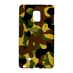 Camo Pattern  Samsung Galaxy Note Edge Hardshell Case by Colorfulart23