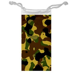 Camo Pattern  Jewelry Bag by Colorfulart23