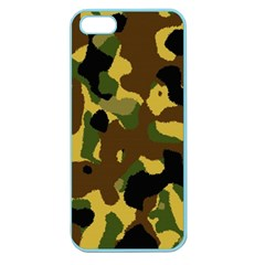 Camo Pattern  Apple Seamless Iphone 5 Case (color) by Colorfulart23