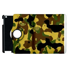 Camo Pattern  Apple Ipad 2 Flip 360 Case by Colorfulart23
