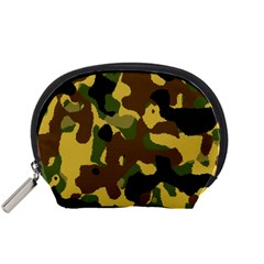 Camo Pattern  Accessory Pouch (Small) by Colorfulart23