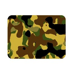 Camo Pattern  Double Sided Flano Blanket (mini) by Colorfulart23