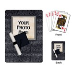 Graduate Playing Cards 1 - Playing Cards Single Design