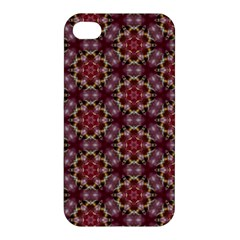 Cute Pretty Elegant Pattern Apple Iphone 4/4s Premium Hardshell Case by creativemom