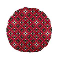 Cute Pretty Elegant Pattern 15  Premium Flano Round Cushion  by creativemom