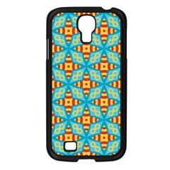 Cute Pretty Elegant Pattern Samsung Galaxy S4 I9500/ I9505 Case (black) by creativemom