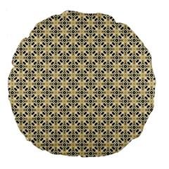 Cute Pretty Elegant Pattern 18  Premium Flano Round Cushion  by creativemom