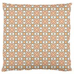 Cute Pretty Elegant Pattern Large Flano Cushion Case (two Sides) by creativemom