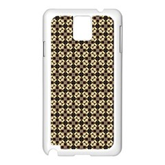 Cute Pretty Elegant Pattern Samsung Galaxy Note 3 N9005 Case (white) by creativemom