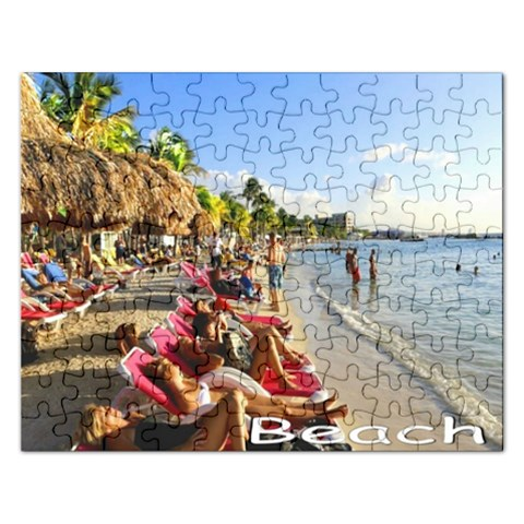 Puzzel By Pamela Sue Goforth   Jigsaw Puzzle (rectangular)   1lxjgl2lxrro   Www Artscow Com Front