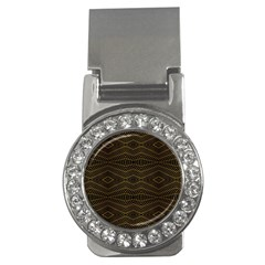 Futuristic Geometric Design Money Clip (cz) by dflcprints
