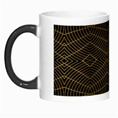Futuristic Geometric Design Morph Mug by dflcprints