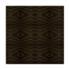 Futuristic Geometric Design Face Towel by dflcprints