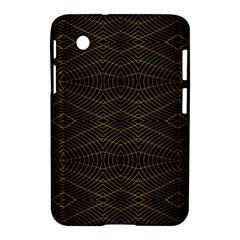 Futuristic Geometric Design Samsung Galaxy Tab 2 (7 ) P3100 Hardshell Case  by dflcprints