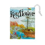 keyflower - Drawstring Pouch (Large)