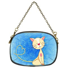 Cute Cat Chain Purse (one Side) by Colorfulart23