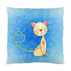 Cute Cat Cushion Case (single Sided)  by Colorfulart23
