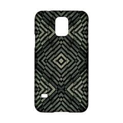Geometric Futuristic Grunge Print Samsung Galaxy S5 Hardshell Case  by dflcprints