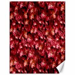 Warm Floral Collage Print Canvas 12  x 16  (Unframed) by dflcprints