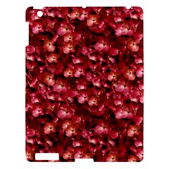Warm Floral Collage Print Apple Ipad 3/4 Hardshell Case by dflcprints