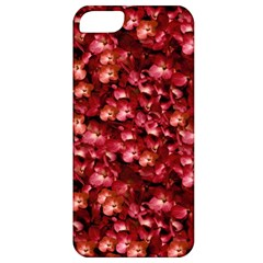 Warm Floral Collage Print Apple Iphone 5 Classic Hardshell Case by dflcprints
