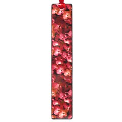 Warm Floral Collage Print Large Bookmark by dflcprints