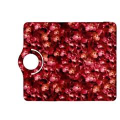 Warm Floral Collage Print Kindle Fire Hdx 8 9  Flip 360 Case by dflcprints