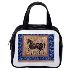 Abstract Horse  Classic Handbag (one Side) by Luxuryprints