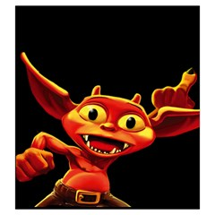 Dungeon Petz Large By Mason Weaver   Drawstring Pouch (large)   Xz63ulc9m4ca   Www Artscow Com Front