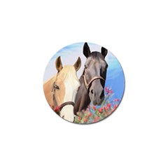 Miwok Horses Golf Ball Marker 10 Pack by JulianneOsoske