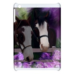 Two Horses Apple Ipad Mini Hardshell Case by JulianneOsoske