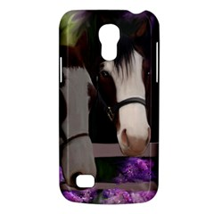 Two Horses Samsung Galaxy S4 Mini (gt I9190) Hardshell Case  by JulianneOsoske