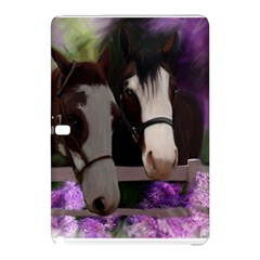 Two Horses Samsung Galaxy Tab Pro 12 2 Hardshell Case by JulianneOsoske